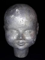 Antik fém Babafej - öntő forma, őntő minta - ritkaság steampunk