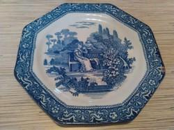 Régi Angol porcelán tányér