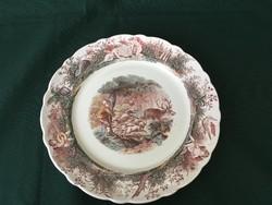 """Ritka Villeroy & Boch Wallerfangen vadászjelenetes tányér """" A hajtó"""""""