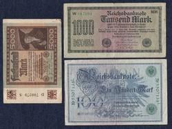 3 db német márka(id5564)