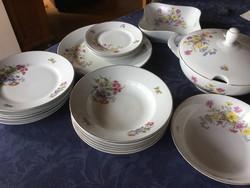 Jager Eisenberg Fh antik porcelán étkészlet
