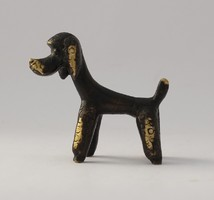 Réz kutyafigura - Walter Bosse/Herta Baller