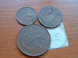ÍRORSZÁG 1/2 +1 + 2 PENNY PENCE 1971 3 DB 55.