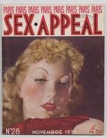 Paris Sex Appeal, Erotikus Magazin 1935-ből, Francia kiadás!