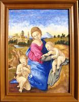 Moona - Esterházy madonna RAFFAELLO festménye után