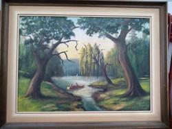 Festmény, olaj