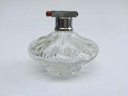 Régi kristály parfümös üveg