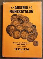 Austria Münzkatalog 1972-1976