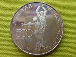 Lake Placid ezüst 500 Forint 1980 PP