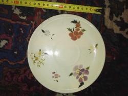 Zsolnay családi pecsétes tányér