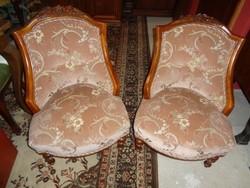 Biedermeier fotelek párban