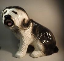 Porcelán kutya hatalmas méret