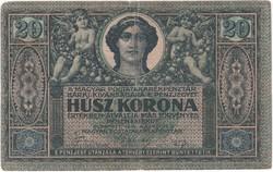 20 Korona - 1919 augusztus