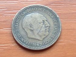 SPANYOL 1 PESETA 1947