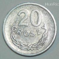 20 Groszy - Lengyelország - 1972.