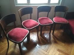 Antik székek (4 db) és kanapé a múlt század első harmadából