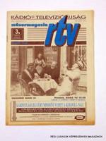 1993 január 18 - 24  /  RTV  /  Régi ÚJSÁGOK KÉPREGÉNYEK MAGAZINOK Szs.:  8656