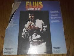 Elvis Presley  MOODY BLUE  cimű 1977-es bakelit lemez