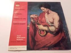 Berlioz,Liszt,Weber,Rimski-Korsakov  művek   Czech Philharmonic Orcestra -  - bakelit lemez 1964