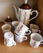 Bavaria teás- kapucsinós készlet, 9 db-s