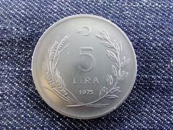 Törökor 5 líra 1975 (id4061)