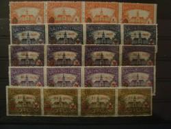 Nagykőrös városi ill.bélyeg 1924,4-es összefügg!!**