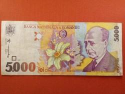 Románia 5000 Lej 1998 (id3498)