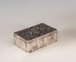 Ezüst barokkos doboz