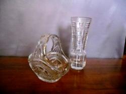 Kínáló kosár és váza