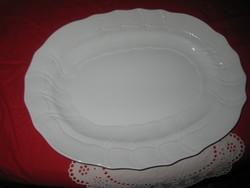 Herendi  ovális  tálca , fehérben  42 x 32 cm  szép állapot   / II. /  xxxxxxxxxxxxxxx