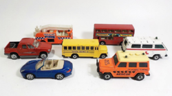 Matchbox tűzoltó , iskolabusz , mentő autó