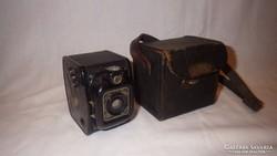 N. Gabri Milano régi mini fényképezőgép eredeti tokjában