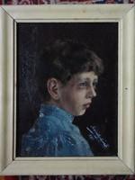 Szamossi László eredeti festménye