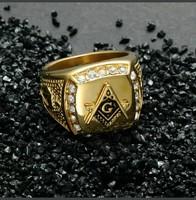 Szabadkőműves Férfi Gyűrű!