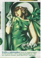 Art deco Tamara de Lempicka plakát kép