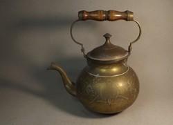 Régi réz teáskanna