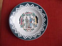 1-ső villágháborus tányér.