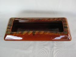 Gránit kerámia retro virágtartó 36 cm