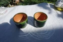 Zöld túri pálinkás pohár eladó.