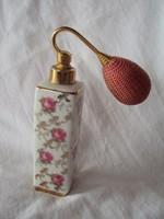 Gyönyörű kézzel festett porcelán kézi pumpás Parfüm fújó