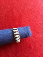 Ezüst  gyűrű   kék köves  4500  ft