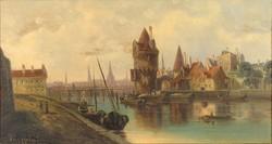Van Hoom jelzéssel : Amszterdami kikötő