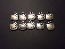 Hello Kitty ezüst eredeti jelzett medál