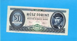 Hajtatlan  !!!! Unc !!!!  20 Forint 1969