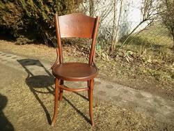 Életfa mintás antik thonet szék szép állapotban -Jelzett debreceni thonet szék