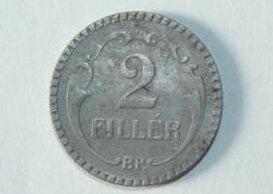 2 Fillér (rovátkolt) - Magyar Királyság - 1940.