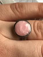 Ezüst designer gyűrű 17mm belső átmérő