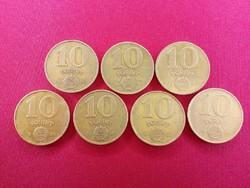 10 Forint - '83, '84, '85, '86, '87, '88, '89 /id 3313/