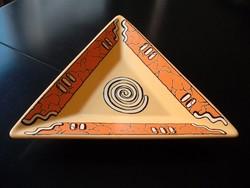 Eredeti WAECHTERSBACH kerámia asztalközép az 1960-as évekből, EXTRA RETRO DESIGN
