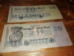 10 millionen mark 20 millionen mark Berlin 1923 jul 25